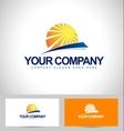 Sun Design Creative vector image vector image