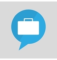 symbol business portfolio icon design vector image vector image