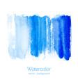 turquoise navy blue indigo watercolor texture vector image vector image