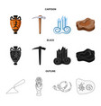 design of story and items symbol vector image vector image