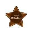 logo chocolate vector image