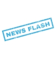 News Flash Rubber Stamp vector image vector image