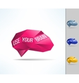Use your brain phrase Mind and intelligence using vector image