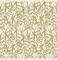 japanese bamboo seamless pattern with beige bamboo vector image