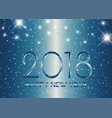 metallic style happy new year background vector image vector image
