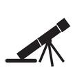 mortar gun icon design vector image