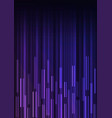 purple blue overlap pixel speed abstract backgroun vector image vector image