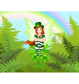 Saint Patricks Fairy vector image vector image