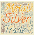 Why Silver May Be A Golden Investment For text vector image vector image