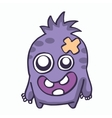 Baby monster for kids t-shirt design vector image vector image