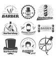 Barbershops Graphic Emblems vector image vector image