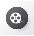 film reel icon symbol premium quality isolated vector image