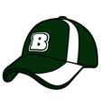 isolated baseball icon vector image vector image