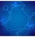 Molecule Abstract Background vector image vector image