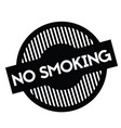 no smoking stamp on white vector image