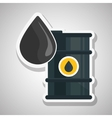 Oil barrel design vector image