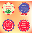 Services Badges vector image