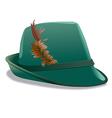 tirol hat vector image vector image