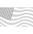 usa dotted flag file vector image vector image
