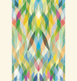 abstract geometric shapes stained glass window