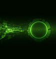 abstract green colored background with various vector image vector image