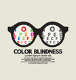 Color Blindness Concept vector image