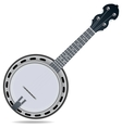 Banjo fiddle instrument vector image