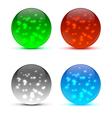 Bright colorful icon balls vector image vector image