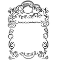 frame calligraphy vector image vector image