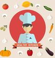 Healthy kitchen icons vector image vector image