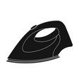 iron for ironing dry cleaning single icon in vector image vector image