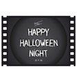 Just Halloween poster vector image vector image