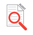 process audit vector image vector image