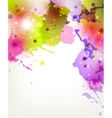 Abstract artistic Background forming by blots vector image