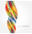 Abstract bright colorful background vector image vector image