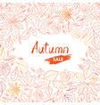 autumn-leaves-background-13-a vector image vector image