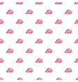 childrens slide elephant pattern vector image vector image