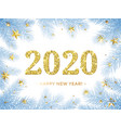 happy new year 2020 glitter gold in christmas