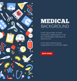 medical clinic landing page template vector image