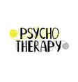 psychotherapy logo icon vector image