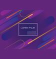 purple geometric dynamic shapes composition vector image