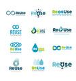 water drop - business logo template concept vector image