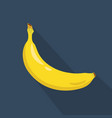 Banana cartoon flat icondark blue background