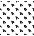black flippers for diving icon simple style vector image vector image