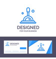 creative business card and logo template search vector image vector image