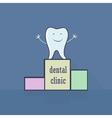 Dental icon Stomatology vector image vector image