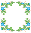 Floral decoration element vector image vector image