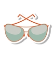 glasses modern style isolated icon vector image vector image