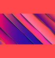 minimal geometric abstract vivid color vector image vector image