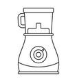 modern blender icon outline style vector image vector image